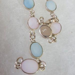 "Jewelry - 925 Sterling Silver Bracelet 4.24g Sz7""i"